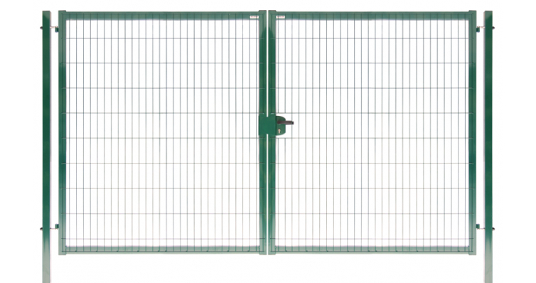 Ворота Medium New Lock 2,03х4,0 RAL 6005